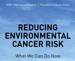 presidents cancer report 2009